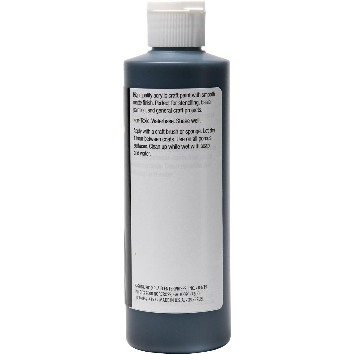 Plaid ® Painter's Palette™ Acrylic Paint - Black, 8 oz.
