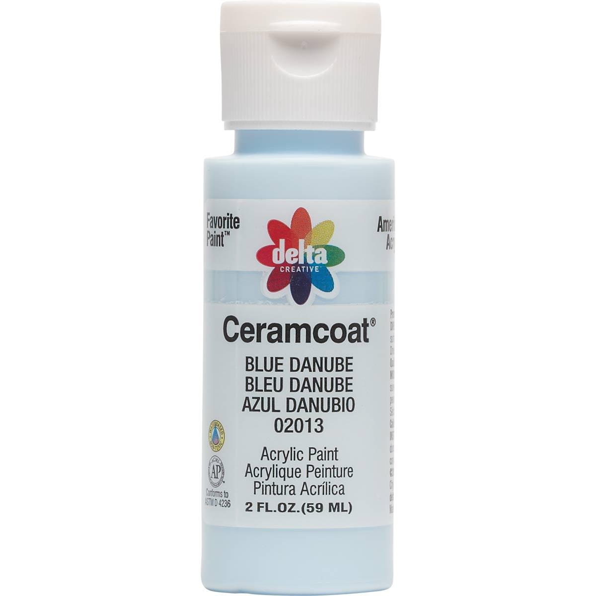Delta Ceramcoat ® Acrylic Paint - Blue Danube, 2 oz.