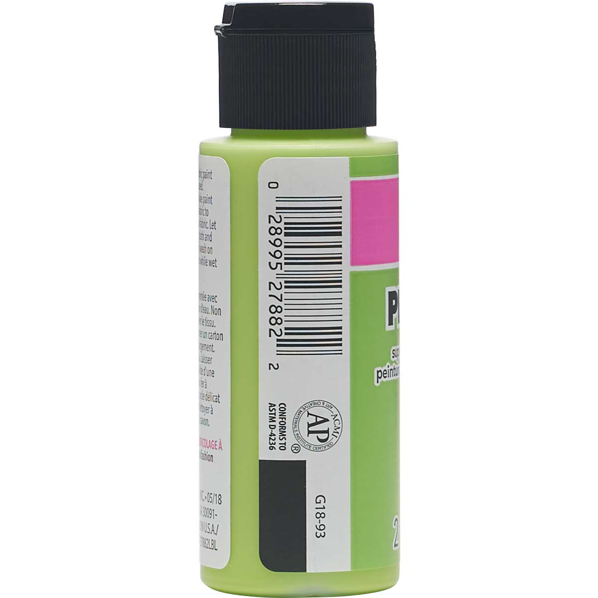 LaurDIY ® Perfect Fabric Paint - Kiwi, 2 oz.