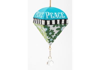 Hope, Joy and Peace Ornaments