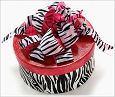 Zebra Hatbox