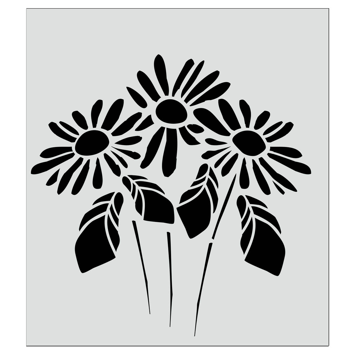 FolkArt ® Painting Stencils - Large - Lazy Daisy - 30937