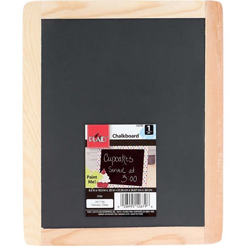 Plaid ® Wood Surfaces - Chalkboard Frame