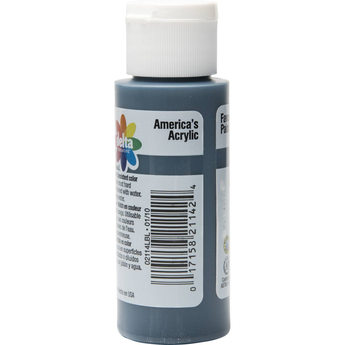 Delta Ceramcoat ® Acrylic Paint - Midnight Blue, 2 oz. - 021140202W