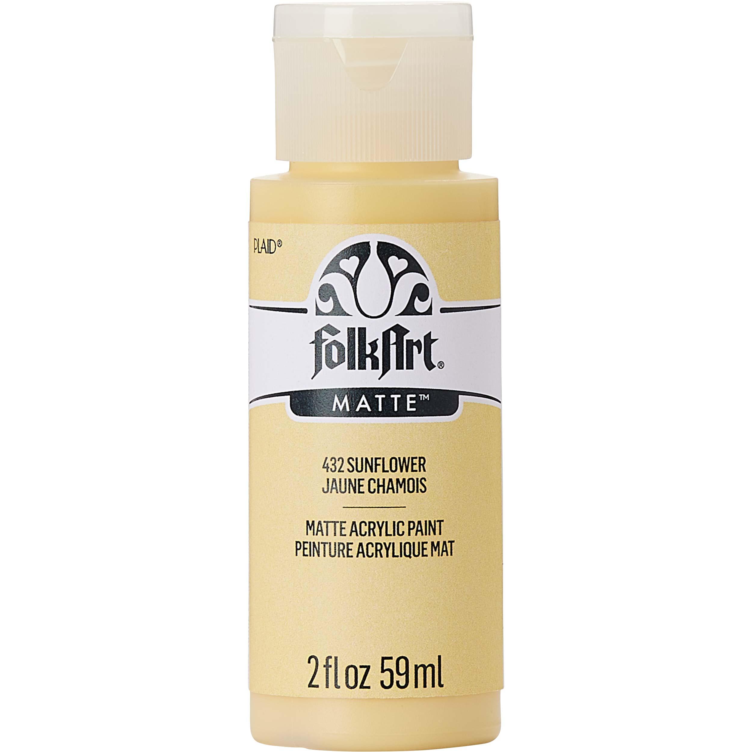 FolkArt ® Acrylic Colors - Sunflower, 2 oz. - 432