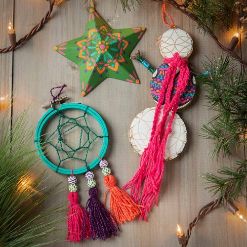 DIY Boho Ornament Collection