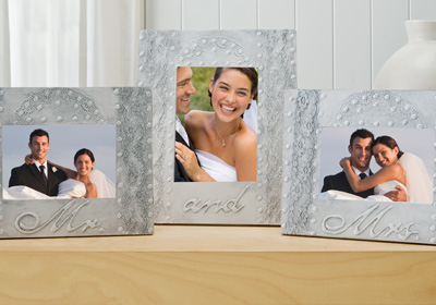 Mr. and Mrs. Wedding Frame Set