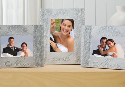 Mr. and Mrs. Wedding Frame Set