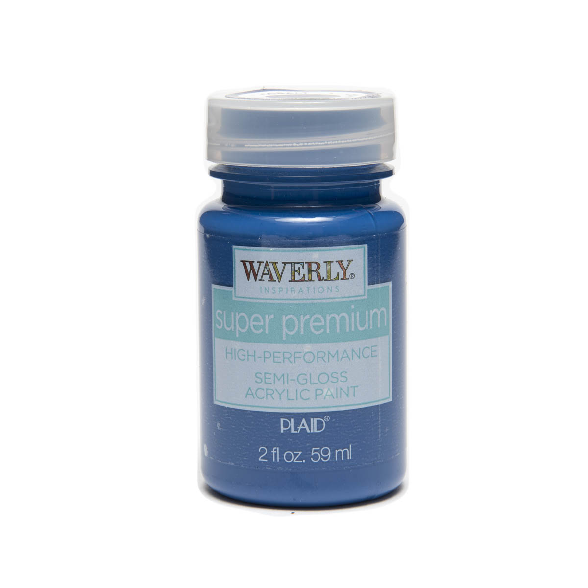 Waverly ® Inspirations Super Premium Semi-Gloss Acrylic Paint - Cobalt Hue, 2 oz.