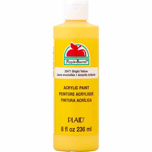 Apple Barrel ® Colors - Bright Yellow, 8 oz. - 20471