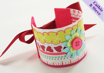Recycled Paper Bracelets