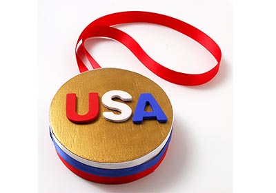 Winter Olympics 2014 Gold Medal