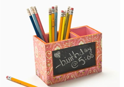 Chalkboard Pencil Box