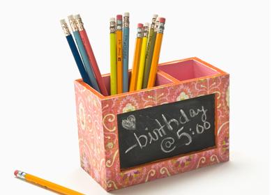 Chalkboard Pencil Box