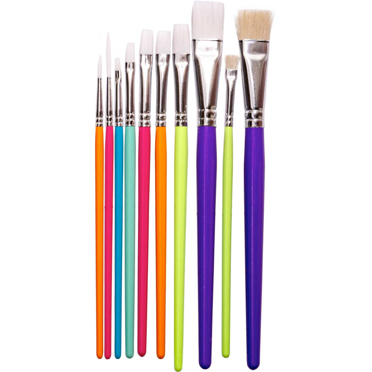 Plaid ® Color By Me™ Brush Sets - Artist Brushes, 10 pc.