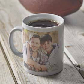 DIY Gifts for Dad - Father's Day Photo Mug