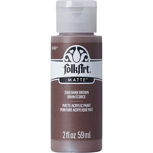 FolkArt ® Acrylic Colors - Bark Brown, 2 oz.