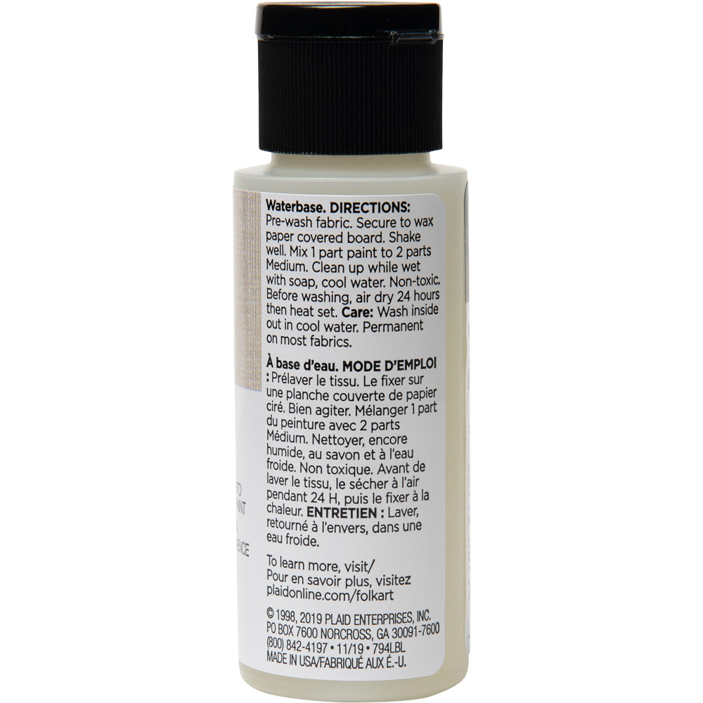 FolkArt ® Mediums - Textile Medium, 2 oz. - 794