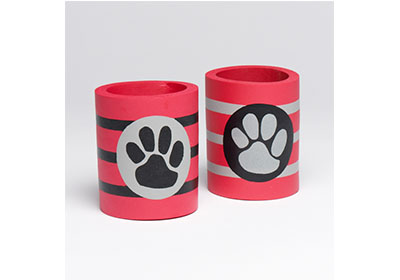 Football Game Day Koozies with FolkArt Multi-Surface