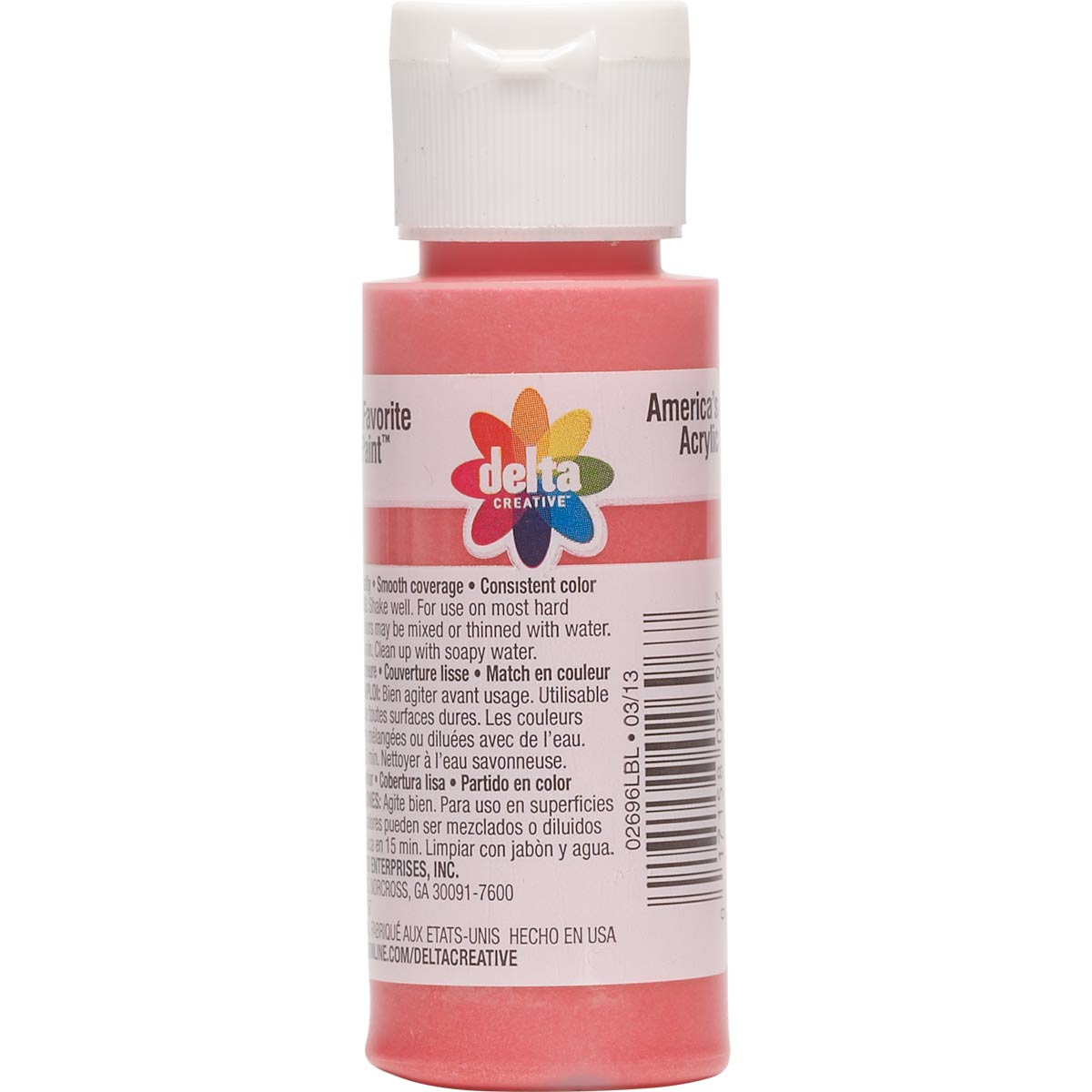 Delta Ceramcoat ® Acrylic Paint - Christmas Red Pearl, 2 oz.