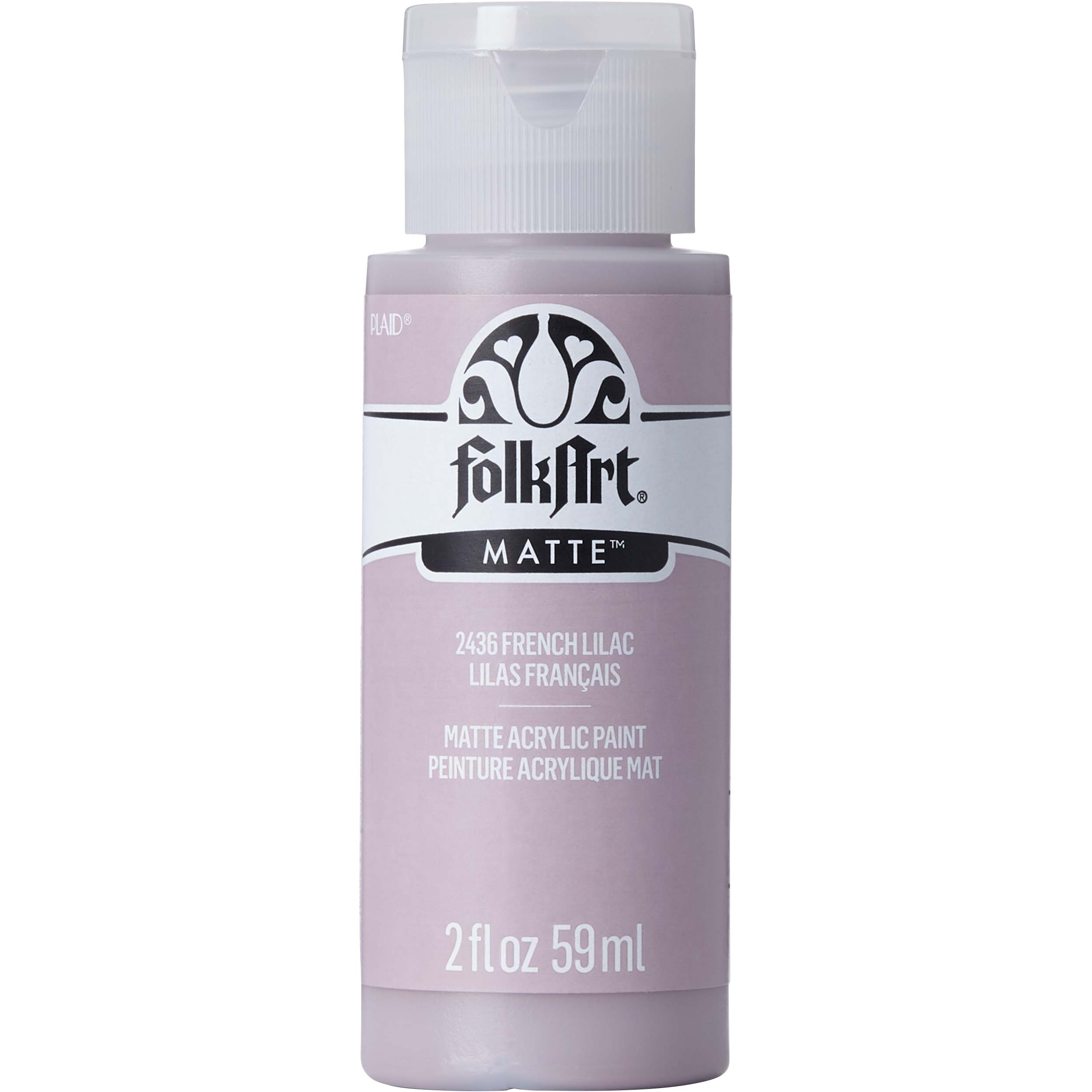 FolkArt ® Acrylic Colors - French Lilac, 2 oz. - 2436