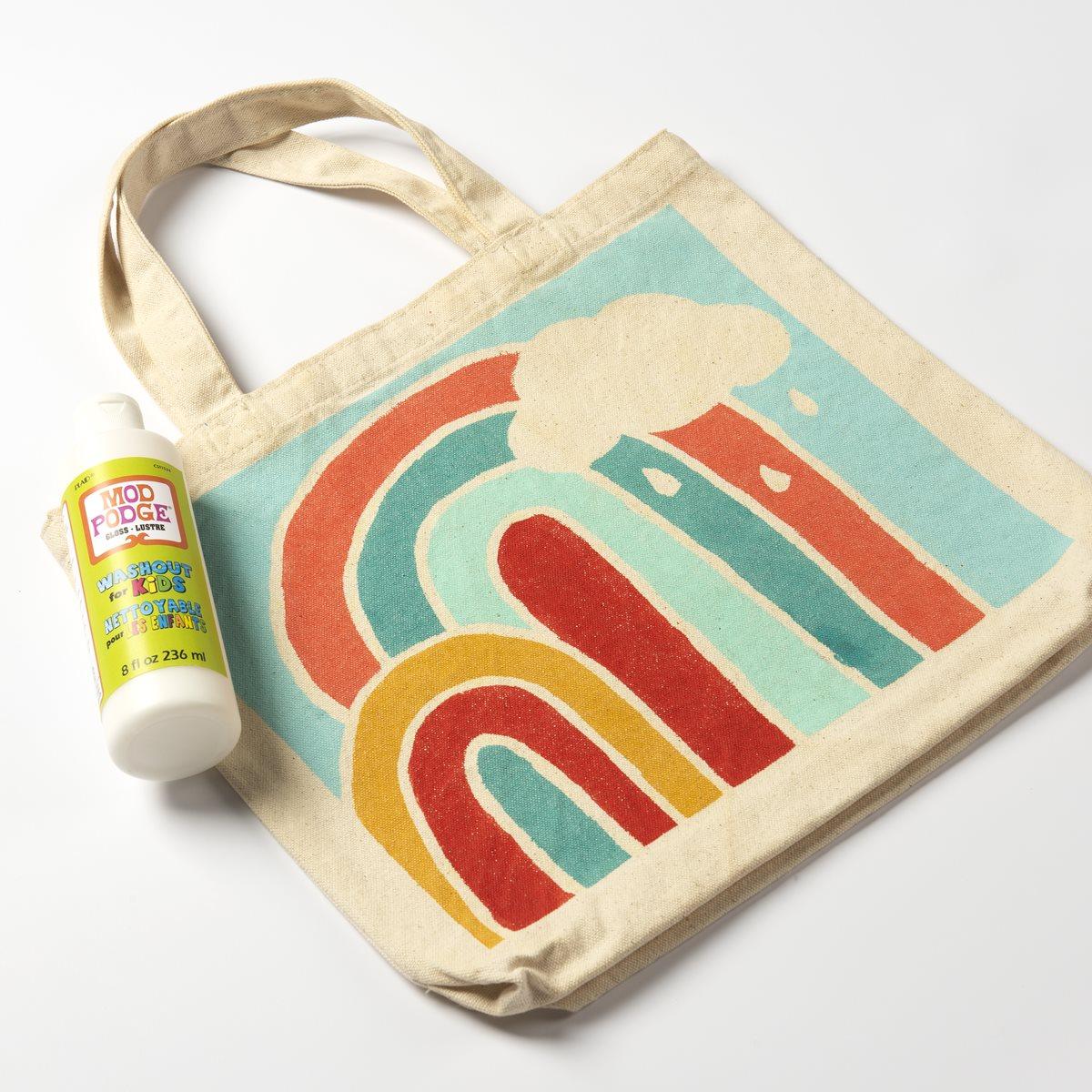 Mod Podge Kids Wash Out Tote Bag