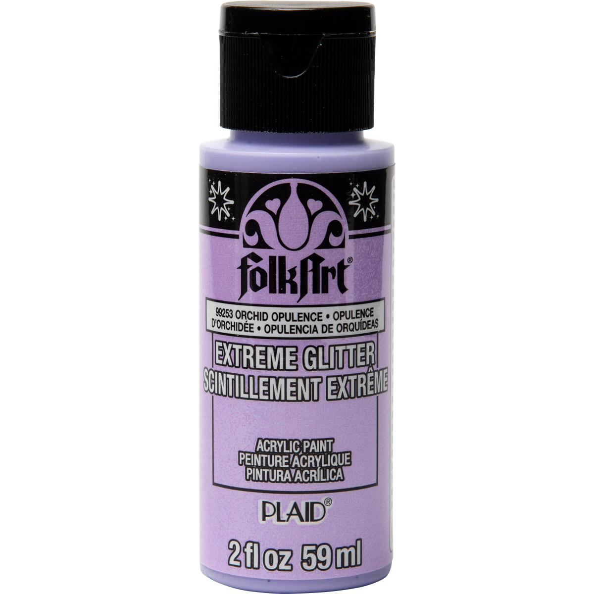 FolkArt ® Extreme Glitter™ - Orchid Opulence, 2 oz. - 99253