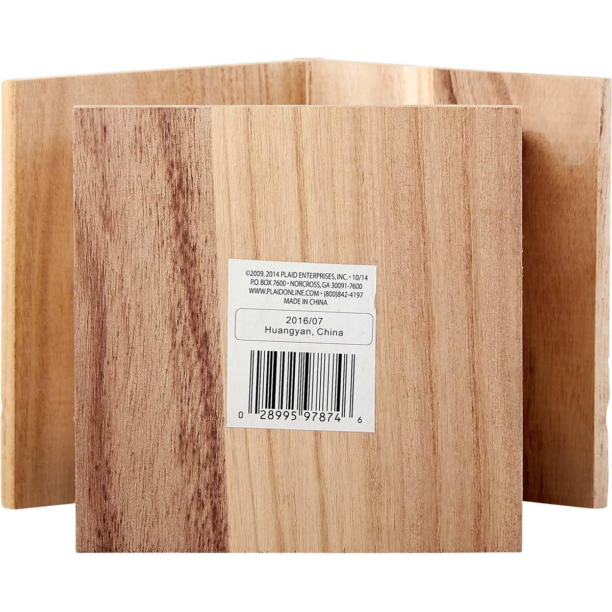 Plaid ® Wood Surfaces - Birdhouses - Large - 97874