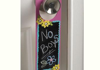 Chalkboard Door Sign