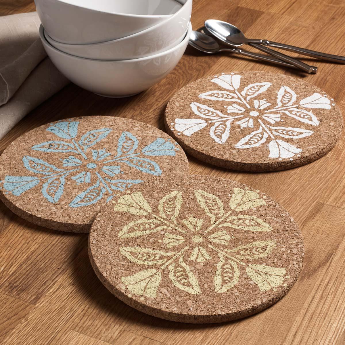 FolkArt ® Painting Stencils - Small - Floral Block - 39267