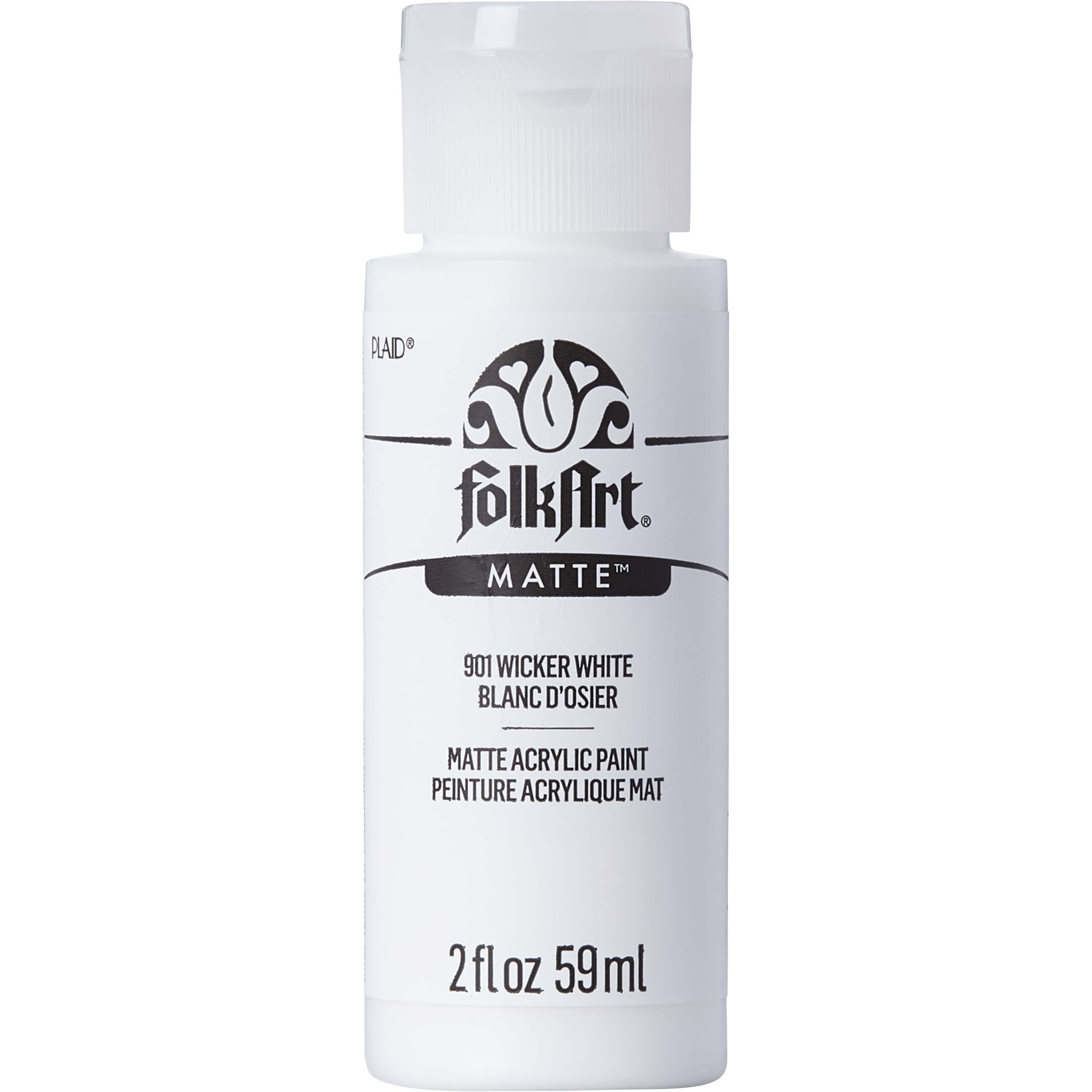 FolkArt ® Acrylic Colors - Wicker White, 2 oz. - 901