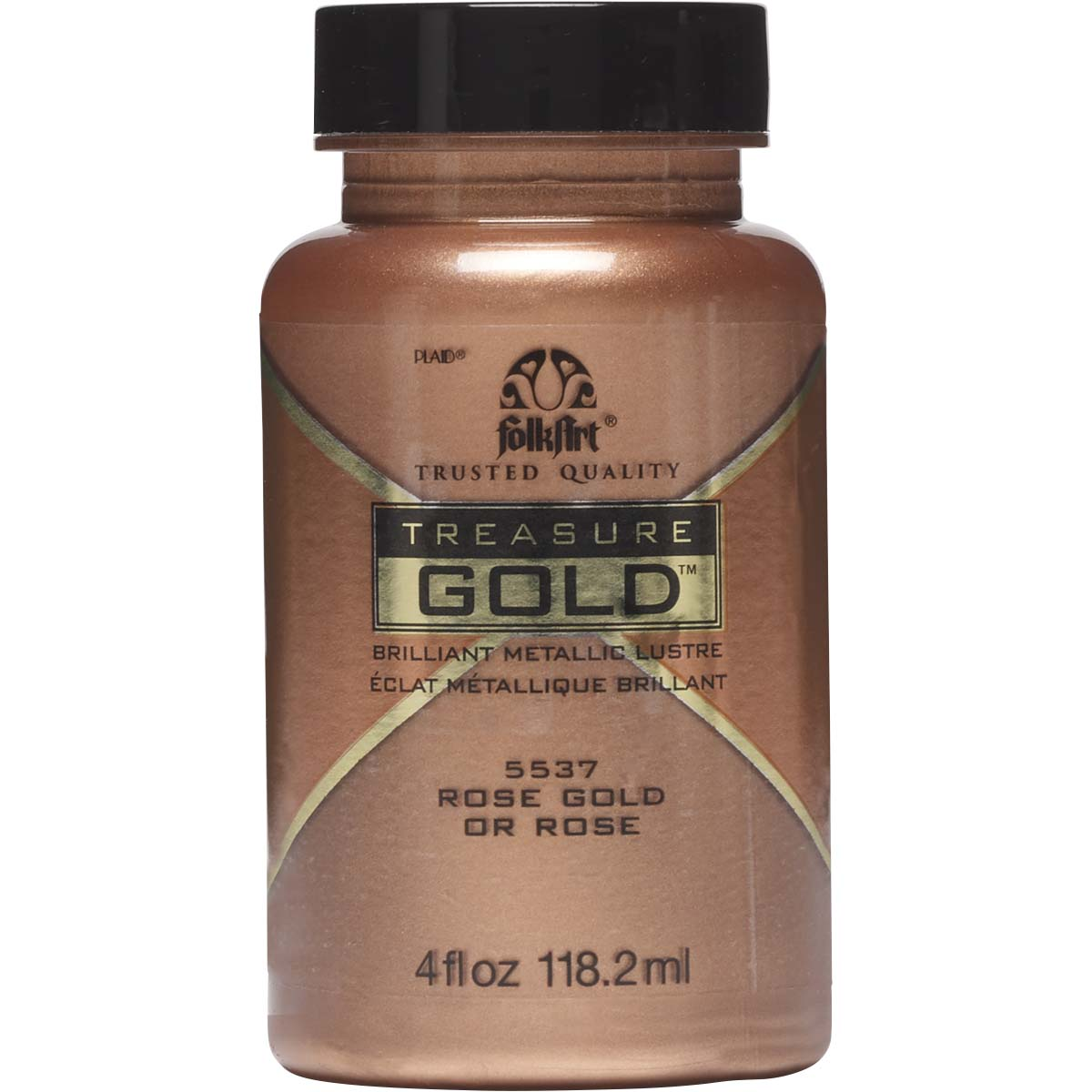 FolkArt ® Treasure Gold™ - Rose Gold, 4 oz. - 5537