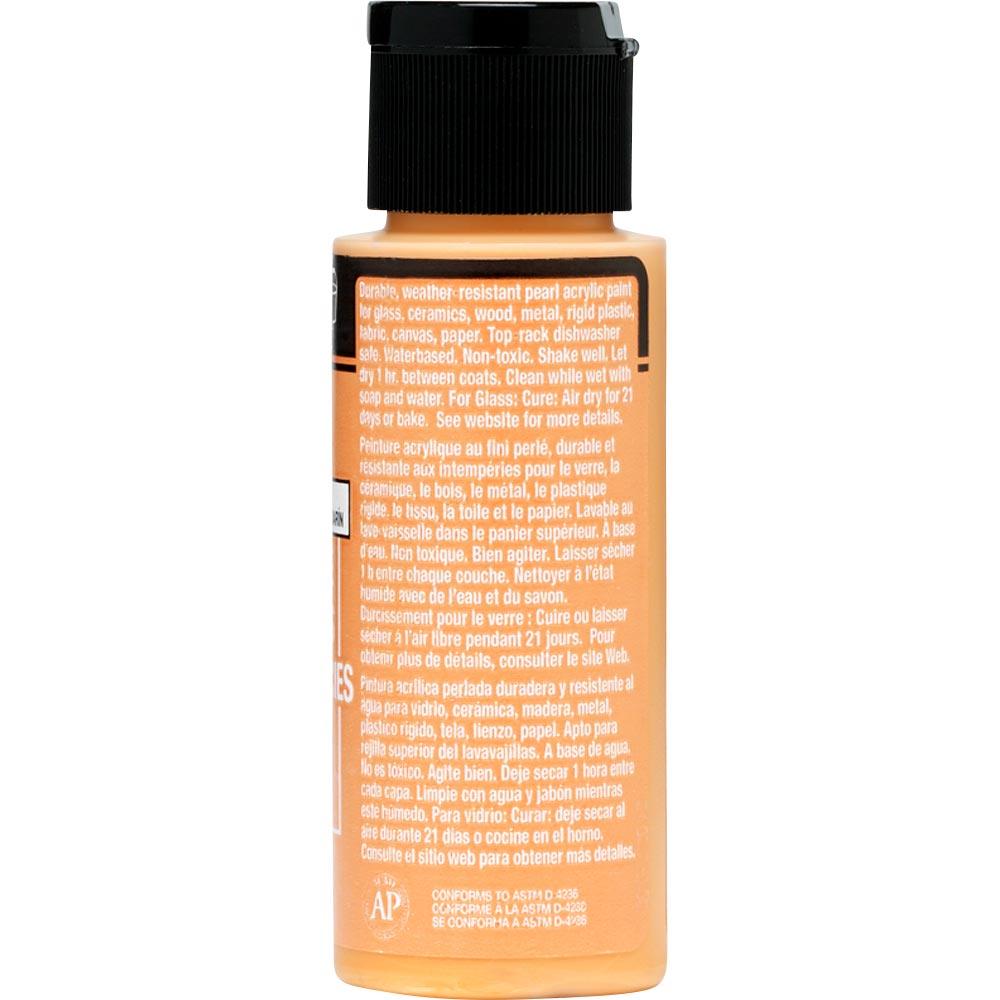 FolkArt ® Multi-Surface Pearl Acrylic Paints - Mandarin Satin, 2 oz.
