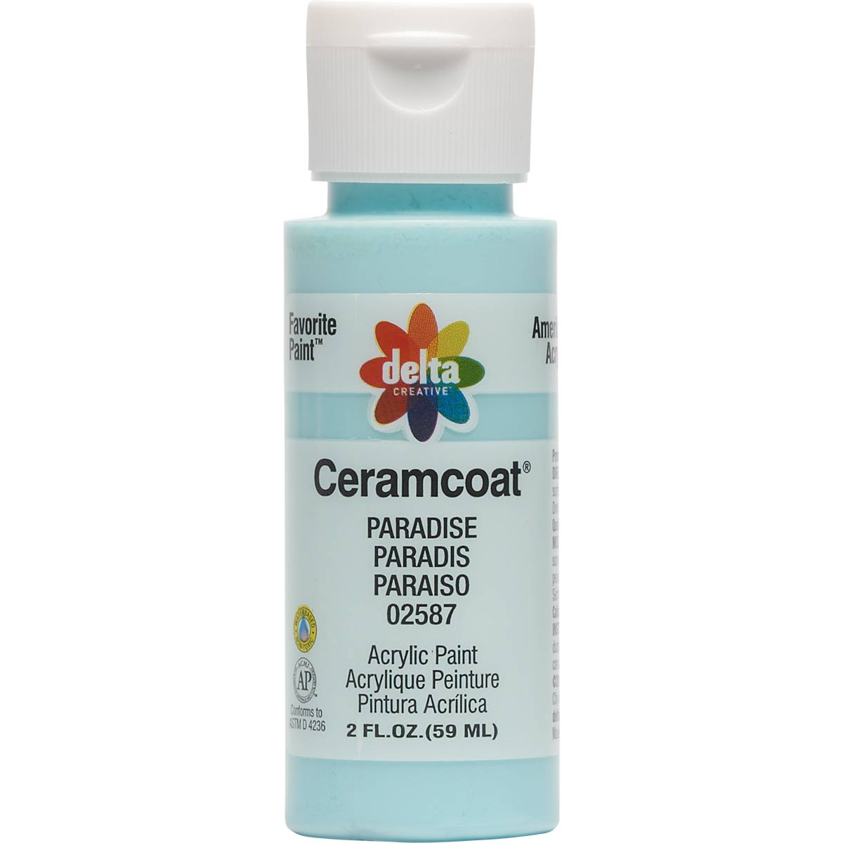 Delta Ceramcoat ® Acrylic Paint - Paradise, 2 oz.