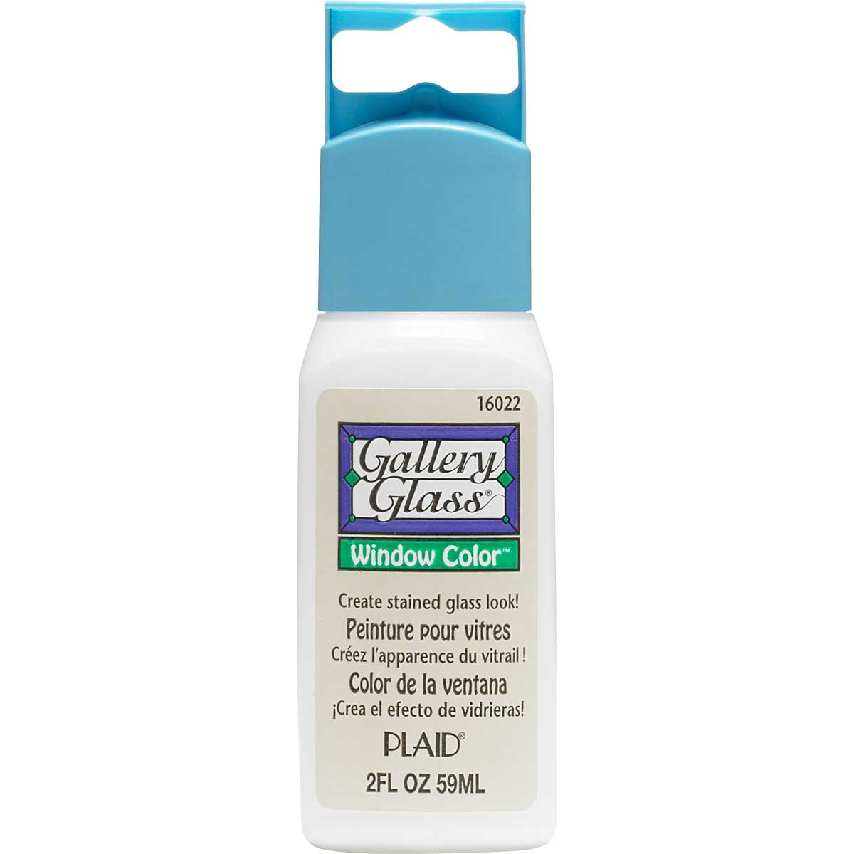 Gallery Glass ® Window Color™ - Clear Frost, 2 oz. - 16022