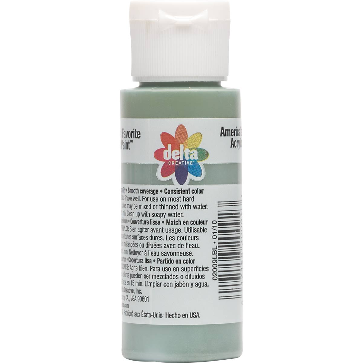 Delta Ceramcoat ® Acrylic Paint - Seminole Green, 2 oz.