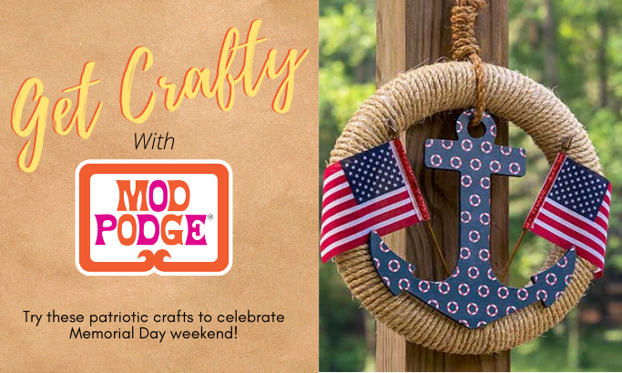 Get Crafty with Mod Podge - Part 6