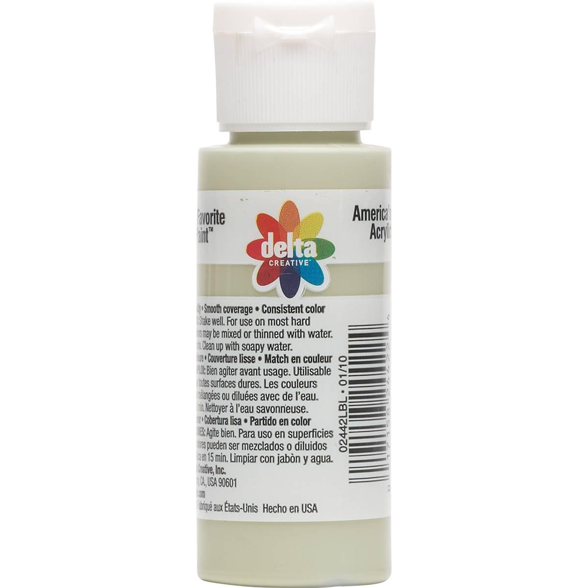 Delta Ceramcoat ® Acrylic Paint - Stonewedge Green, 2 oz.