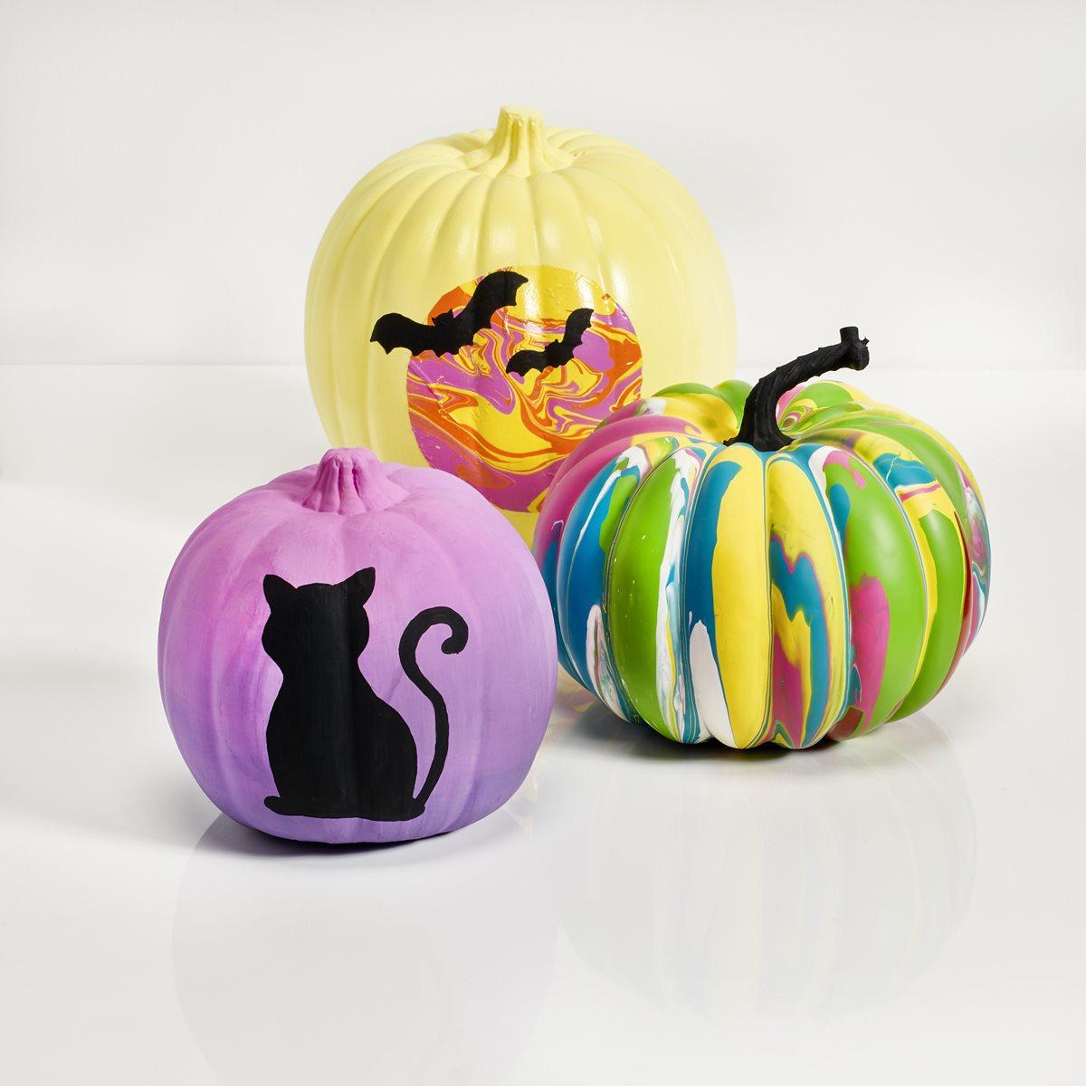 Apple Barrel Pouring Pumpkins