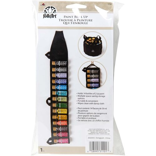 FolkArt ® Painting Tools - Paint Storage Roll-up - 31101