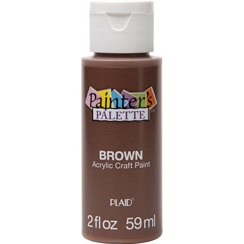 Plaid ® Painter's Palette™ Acrylic Paint - Brown, 2 oz.