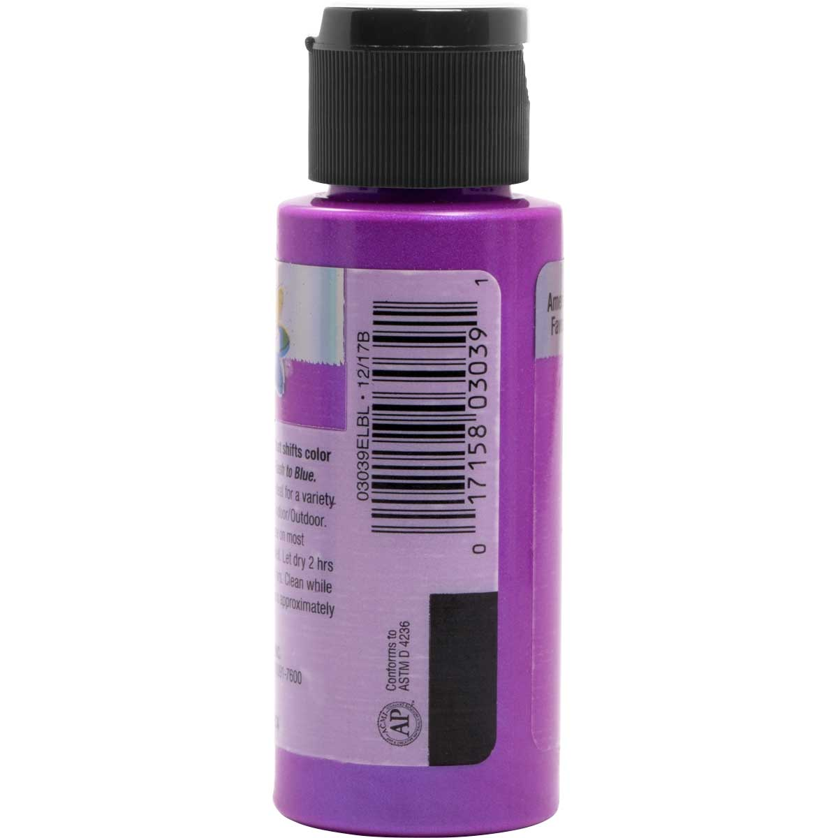 Delta Ceramcoat ® Acrylic Paint - Flash Metallic Purple, 2 oz.