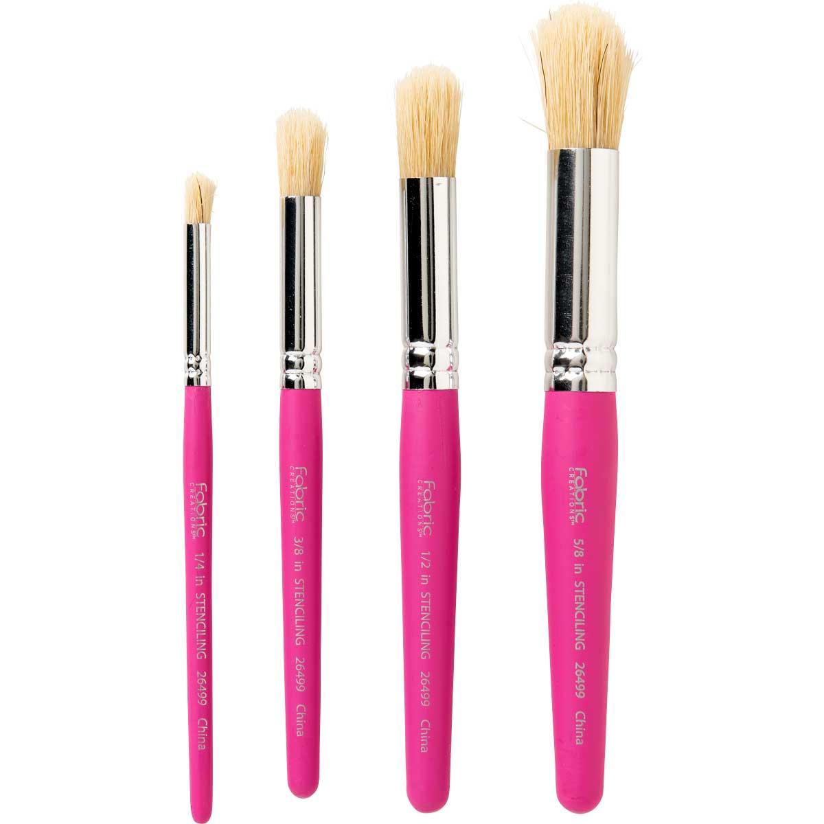 Fabric Creations™ Brush Set - Fabric Stencil Set - 26499