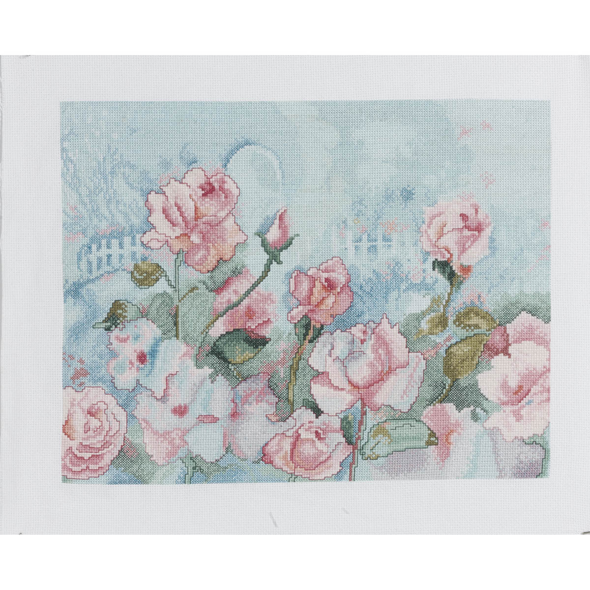Bucilla ® Counted Cross Stitch - Picture Kits - Rose Romance - 46470