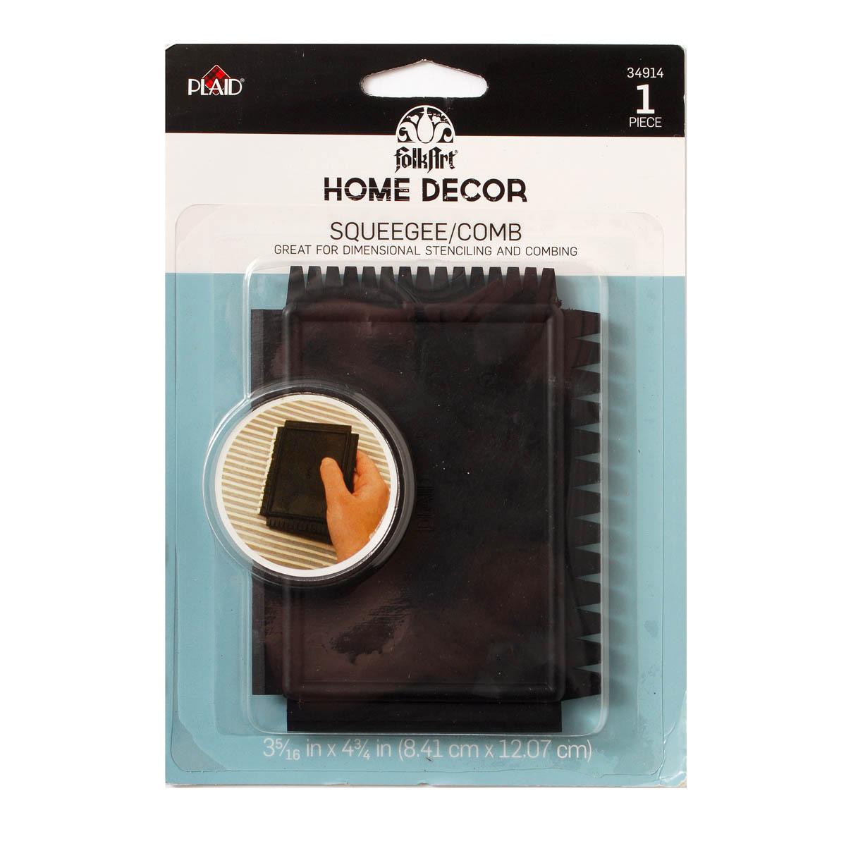 FolkArt ® Home Decor™ Tools - Squeegee/Comb - 34914