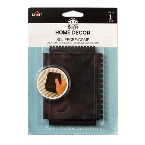 FolkArt ® Home Decor™ Tools - Squeegee/Comb