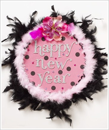 Girls Night New Year's Eve – Door Decor