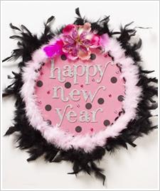 Girls Night New Year's Eve – Door Decor