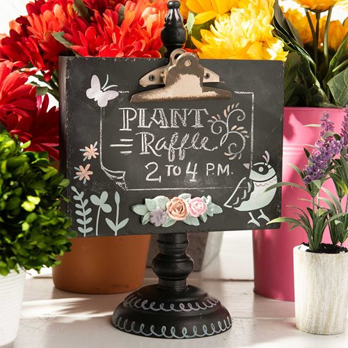 Easy DIY Chalkboard Sign