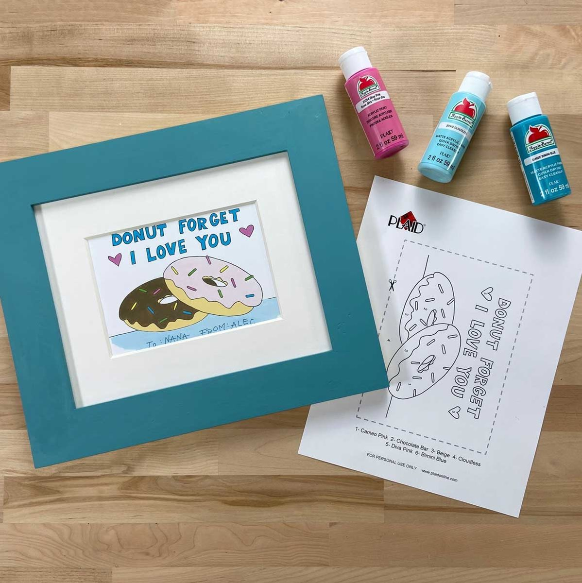 Easy DIY Grandparents Day Printable